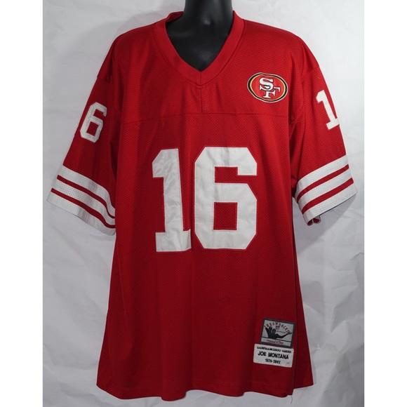 free shipping cb04a 509df Joe Montana San Francisco 49ers Jersey Size 54 XXL